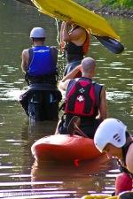 Kayakers on Potomac River