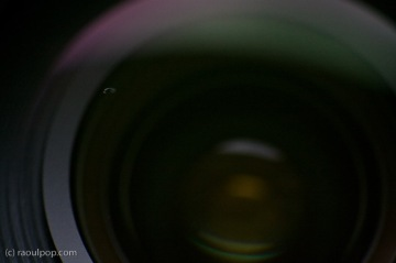 EF 24-105mm contaminated lens