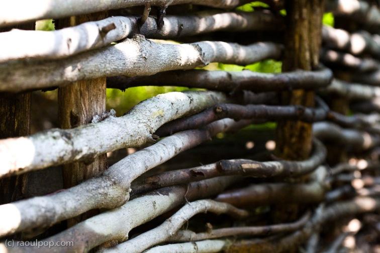 Wooden fence III