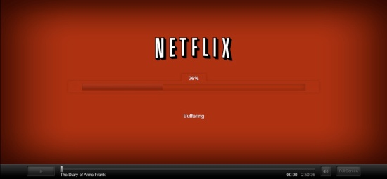 Netflix Watch Instantly buffering outside the US