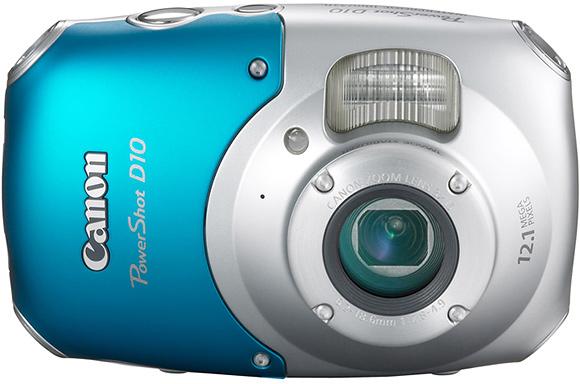 Canon PowerShot D10 - 2