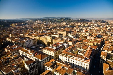 Morning over Florence