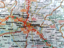 Map of Firenze