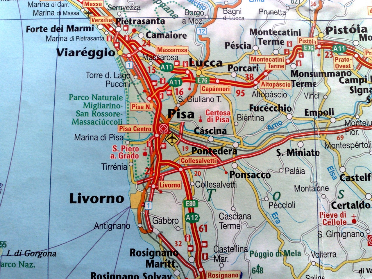 Italian Road Trip Day Pisa Raoul Pop - Pisa bus map