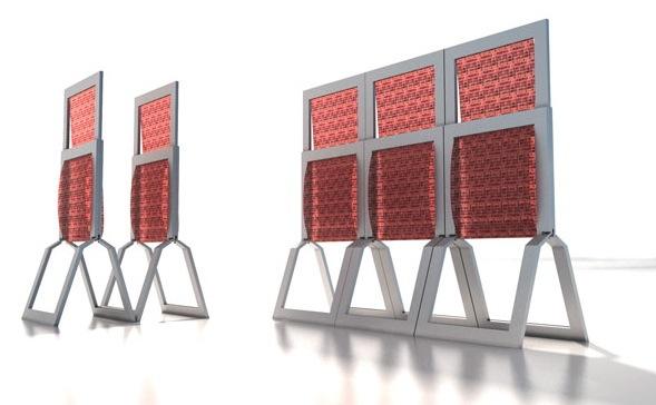 Mosaic Folding Chair - 2