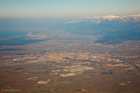 Pisa from above