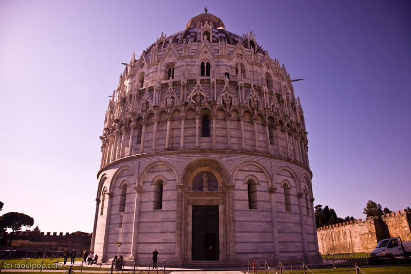 The Baptistry, from the front
