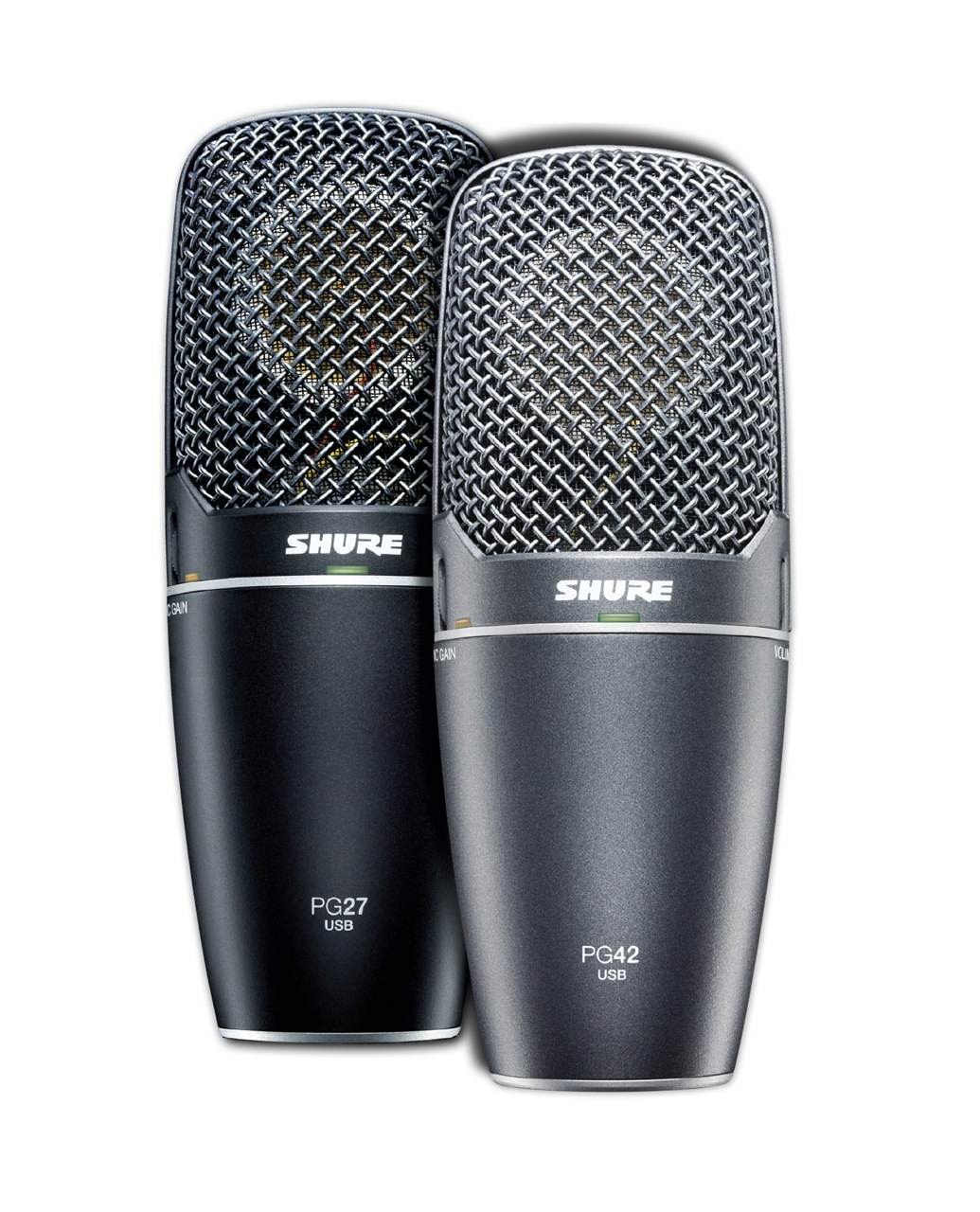 how to connect shure sm7b to computer