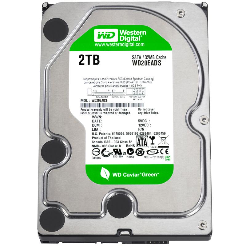 Western Digital 2TB SATA Hard Drive - 1