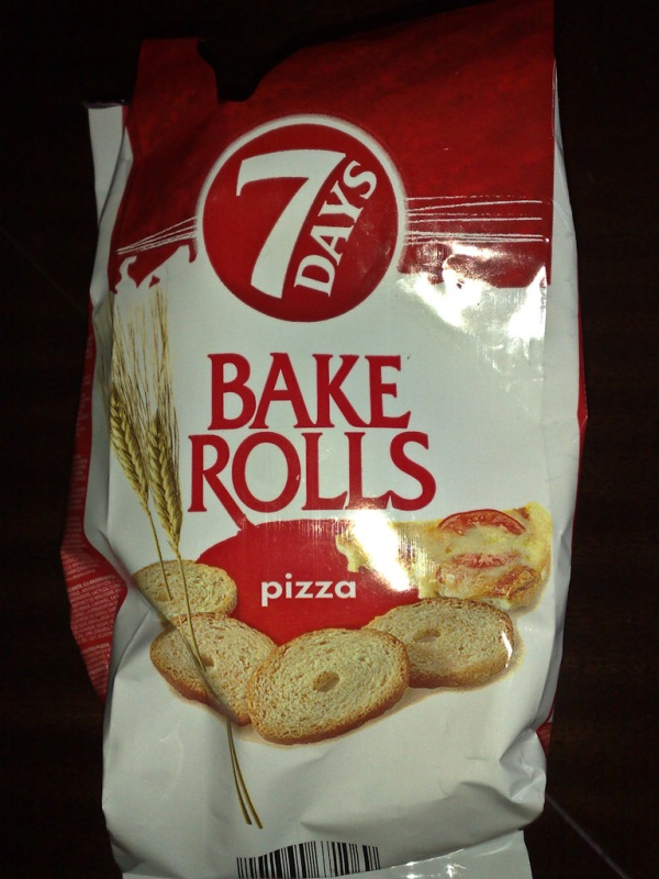 7 Days Bake Rolls - Pizza Flavor