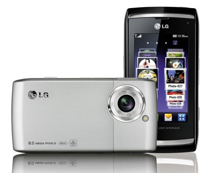 LG Viewty Smart (LG-GC900) Smartphone - 1