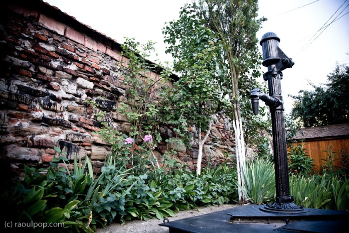 The old water fountain