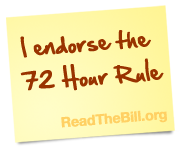 I endorse the 72 Hour Rule