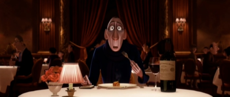 A scene of revelation from Ratatouille with Anton Ego to illustrate the title of this blog, did you mean ego]?