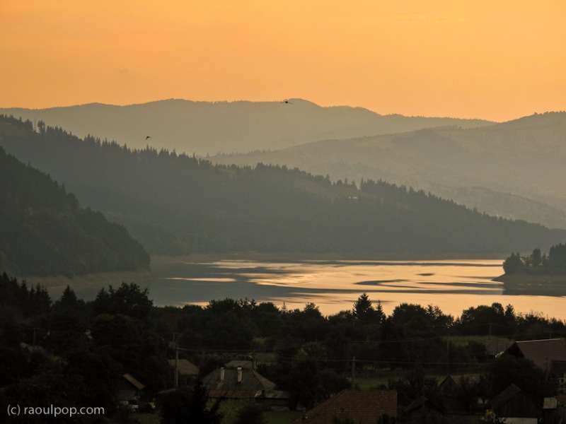 Dawn on Lake Bicaz