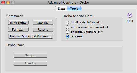 drobo-dashboard-advanced-controls