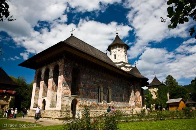 Manastirea Moldovita, Bucovina, Romania.
