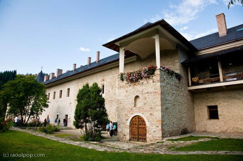 Manastirea Sucevita, Bucovina, Romania.