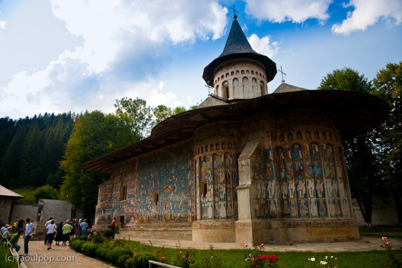 Manastirea Voronet, Bucovina, Romania