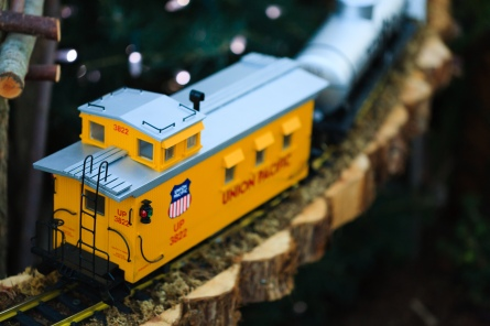 Union Pacific Car 3822