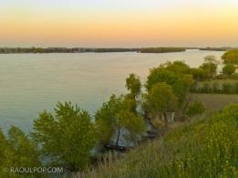 Dusk on the Danube