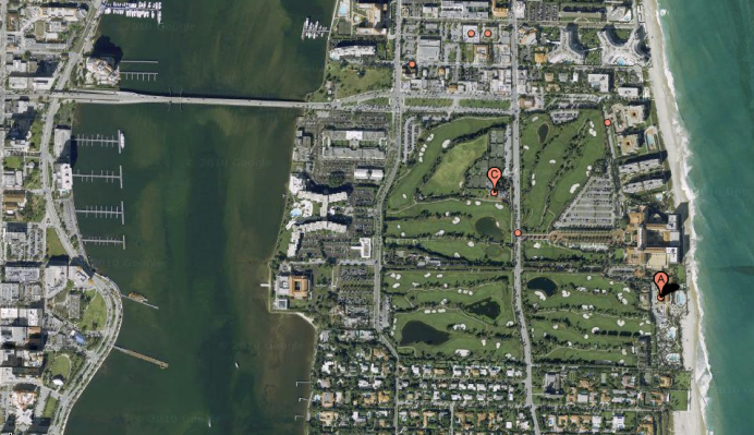 flagler-museum-map