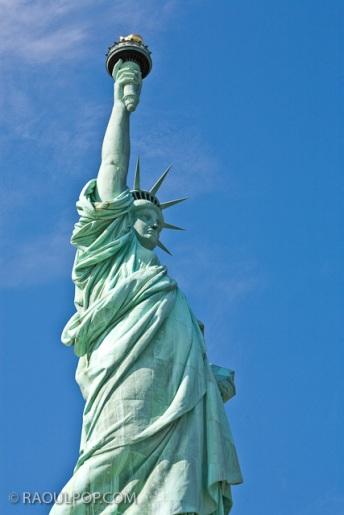 Statue of Liberty, New York, USA.
