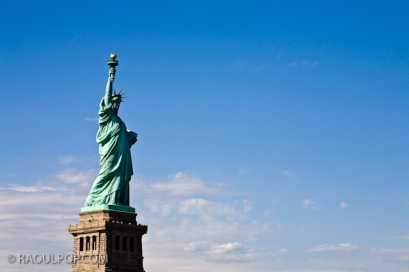 Statue of Liberty, New York, USA.