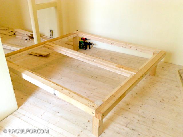 Making the custom bed frame – Raoul Pop
