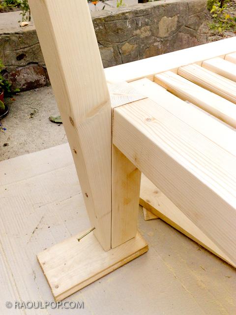 bed frame plans king size