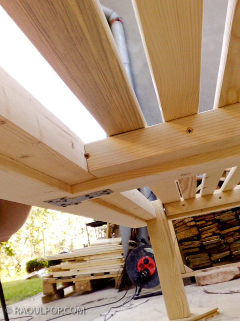 Easy Diy Wood Bed Frame Cal King