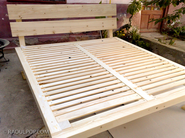 king bed frame plans woodworking