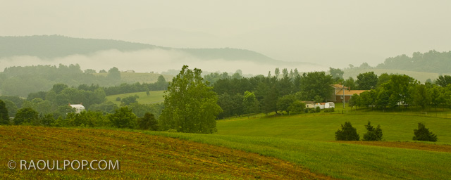 Morning fog virginia countryside raoul pop Usa countryside pictures