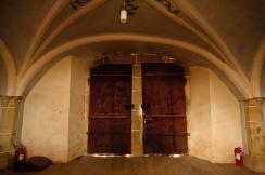 Inside the church, Biertan, Romania.