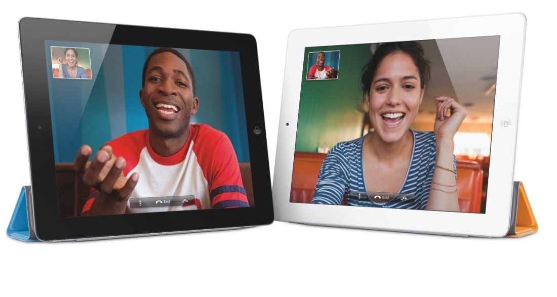 Facetime on iPad 2