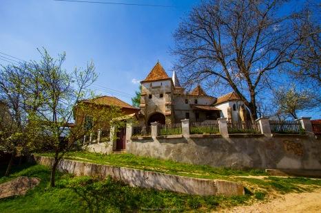 At the fortified Saxon church in Curciu, Transilvania, Romania