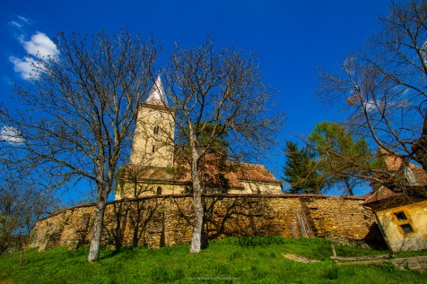 At the fortified Saxon church in Curciu, Transilvania, Romania