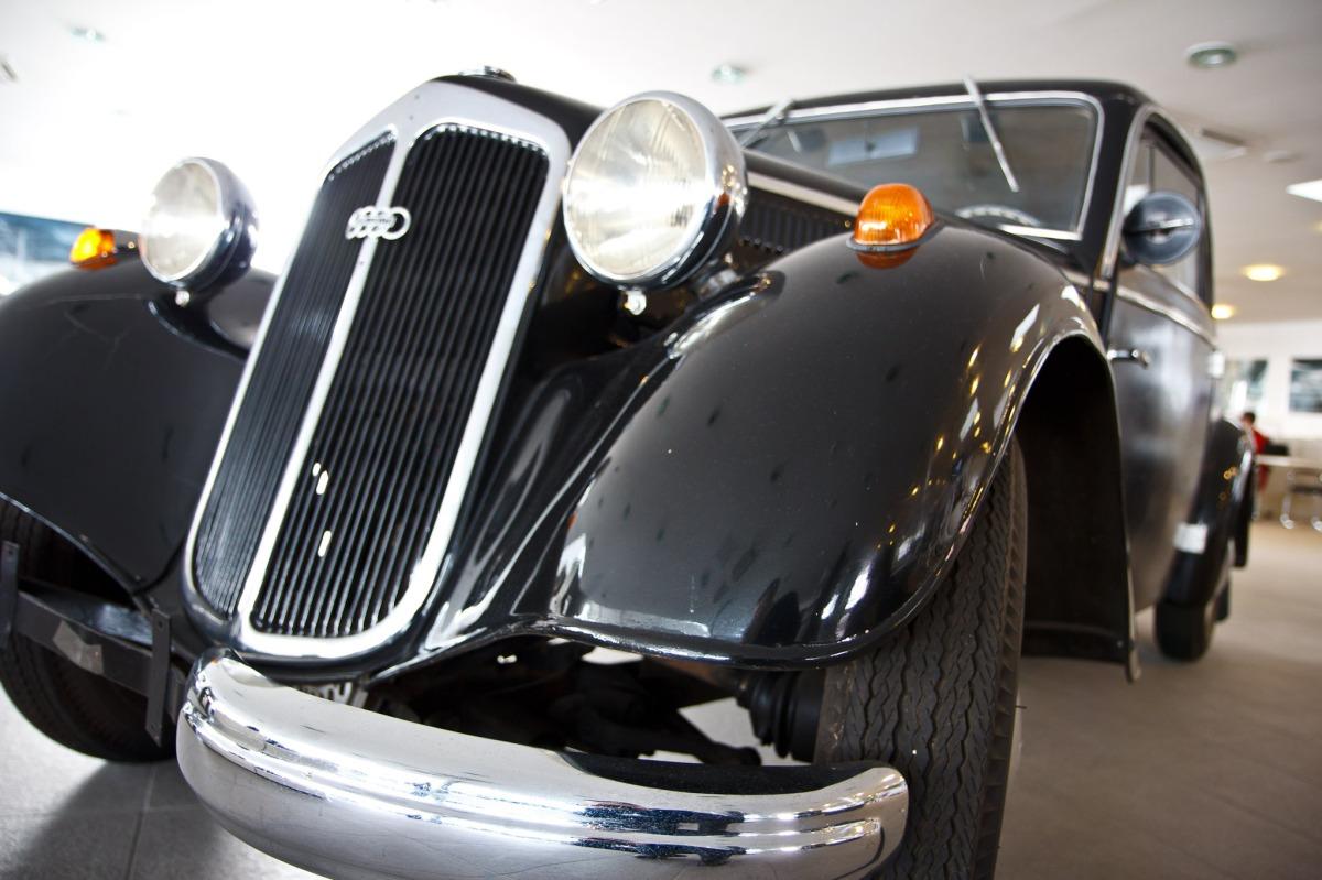 An antique Audi at TessAuto