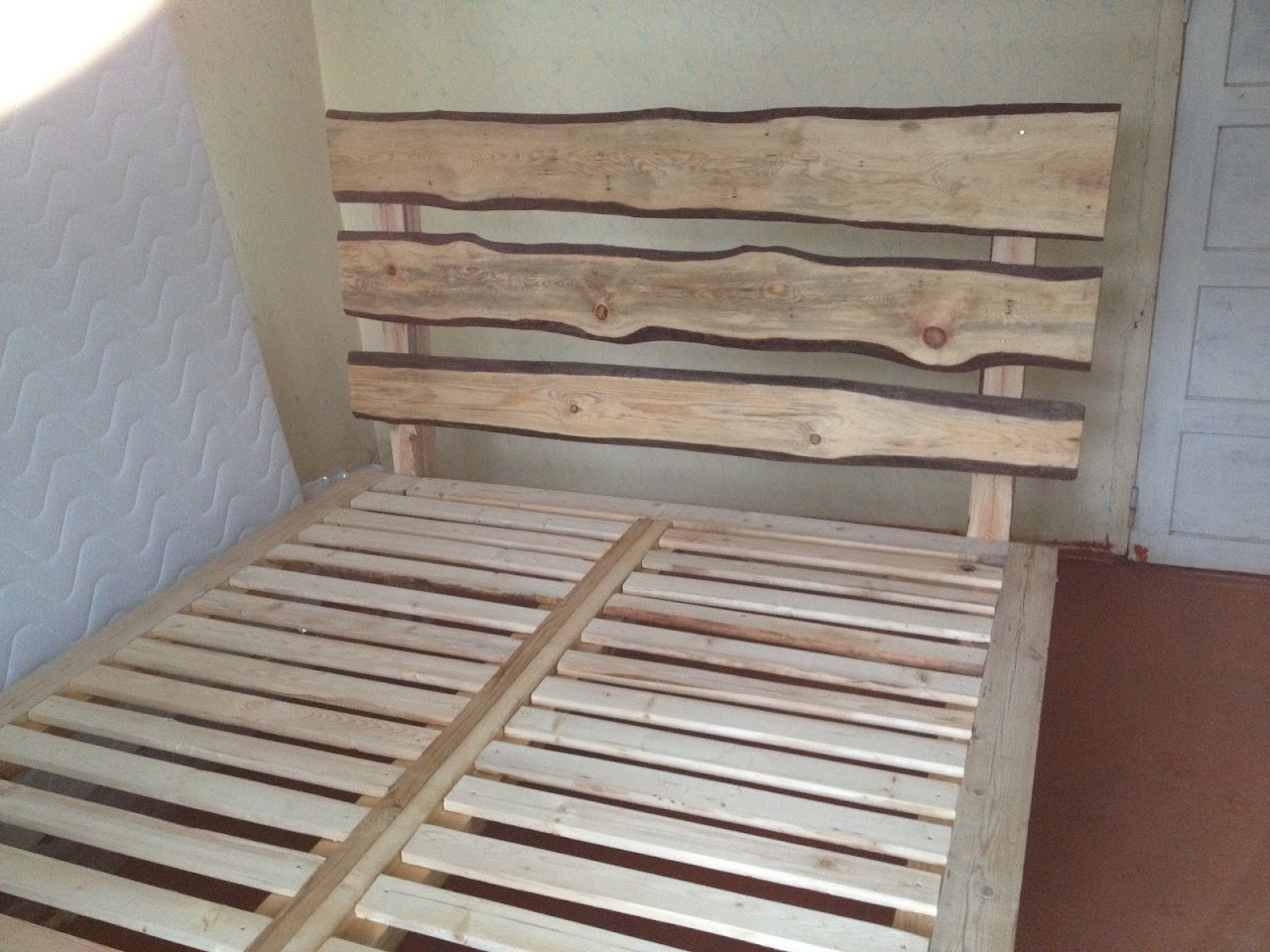 Beautiful My bed frame es to life in Latvia