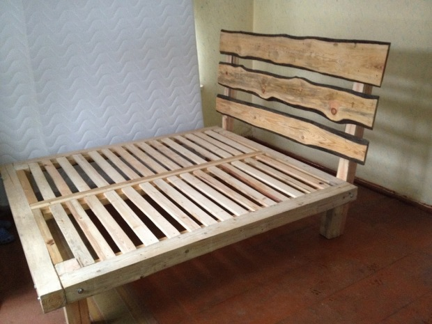 easy king size bed frame plans