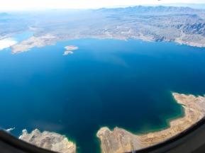 Over Nevada