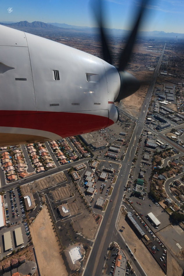 Over Las Vegas