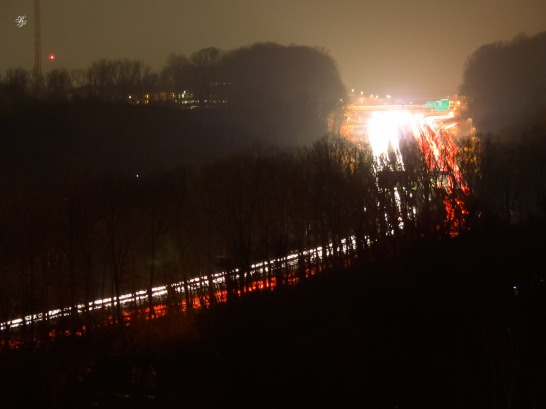 I-270 at night