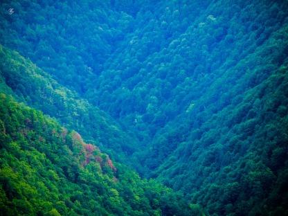 Mountain slopes near Sugag