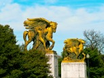 Statues on the bridge
