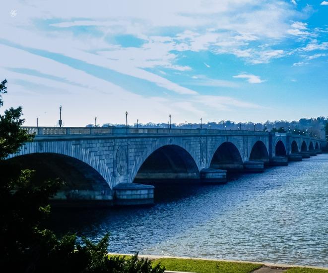Bridge over the Potomac River.