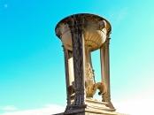 Urn, Lincoln Monument, downtown Washington, DC, USA.