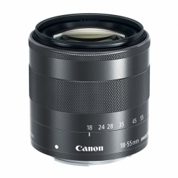 Canon EF M 18-55mm IS lens