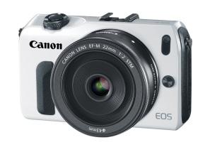 Canon EOS M (white)