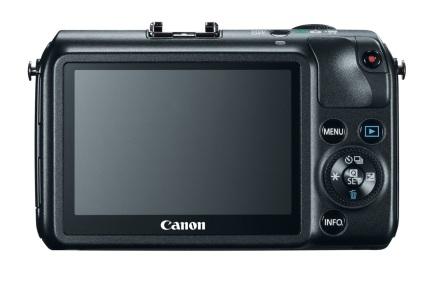 Canon EOS M (back)
